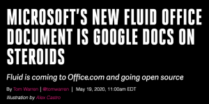 Microsoft Fluid Office Document