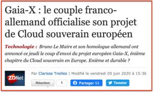 GAIA-X Cloud Souverain