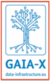 Logo GAIA-X data infra