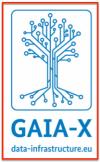 Logo GAIA-X data infra