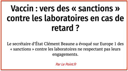 Christian Beaune sur vaccins