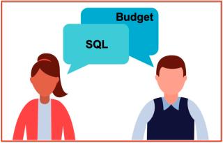 Données dialogue SQL vs Budget