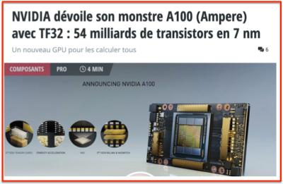 Nvidia ampere AI processor