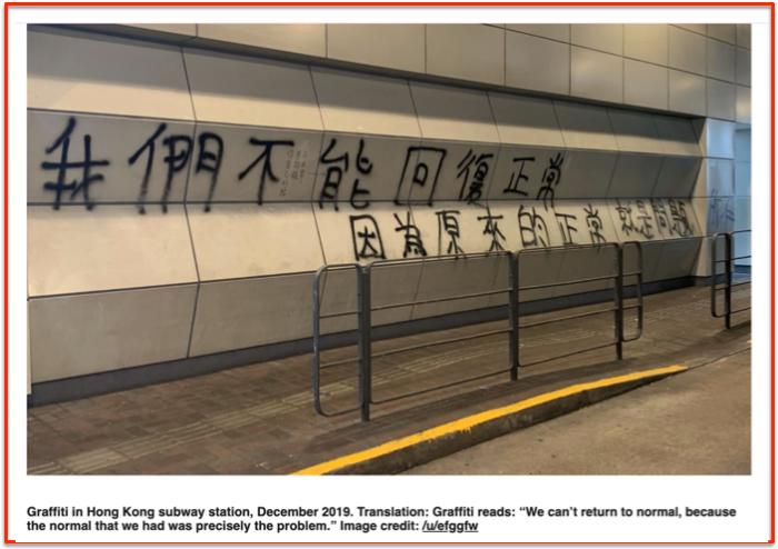 Graffiti HongKong COVID-19