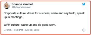 Dress WFH vs Office
