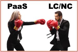 PaaS vs LC:DC Boxing