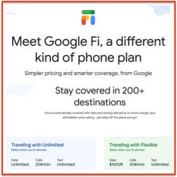 Google Fi pricing