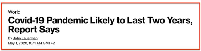 COVIC pandemic last 2 years