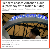 TENCENT 70 B$ in Cloud
