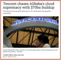 TENCENT 70 B$ in Cloud