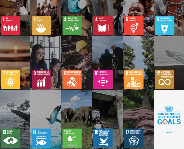 UN Sustainable 17 goals