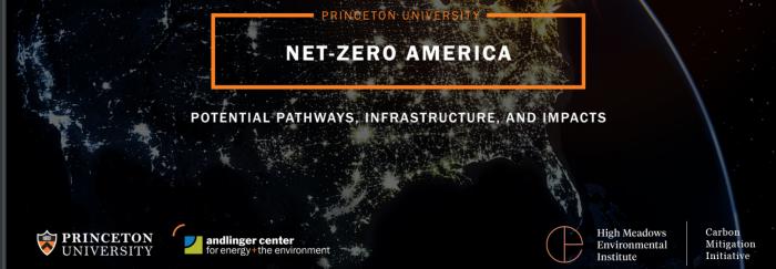 Princeton Net-Zero America 2050