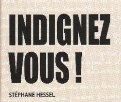 Indignez vous couverture livre Stéphane Hessel
