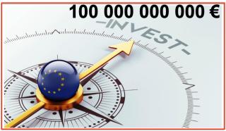 Europe investissement 100 B €