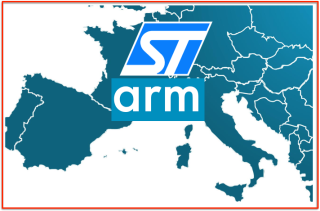 Europe Map STM ARM