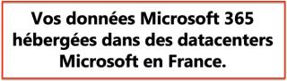 Microsoft Data center Office 365 en France