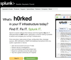 Splunk_home_page